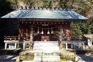 稲荷神社拝殿の画像