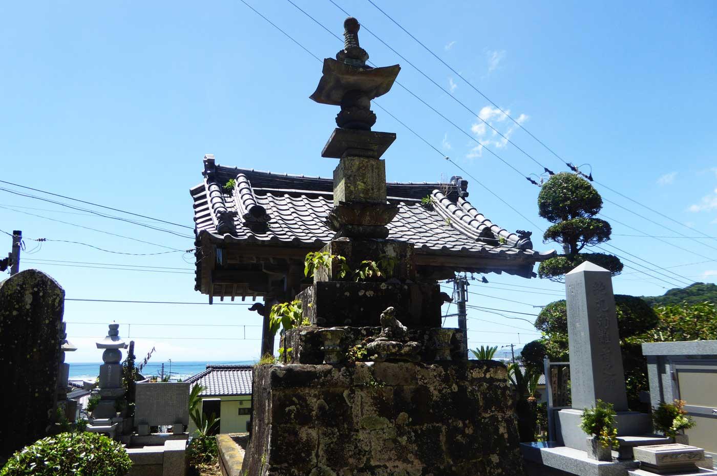 威徳院の梵鐘