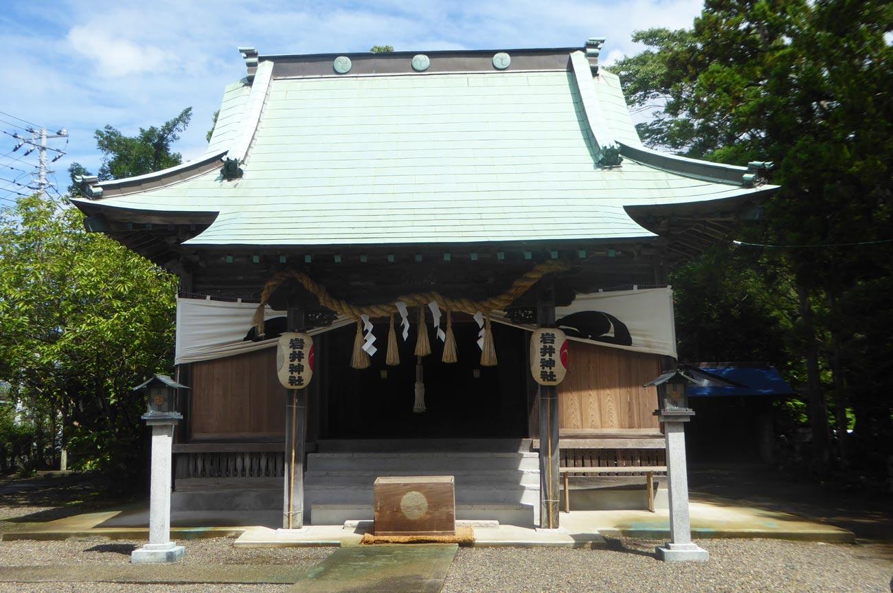 岩井神社拝殿の画像