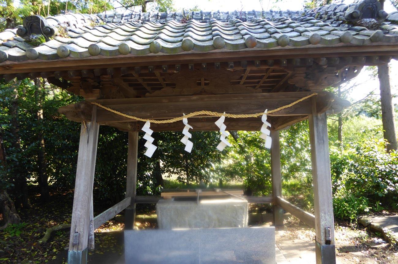 岩井神社手水舎の画像