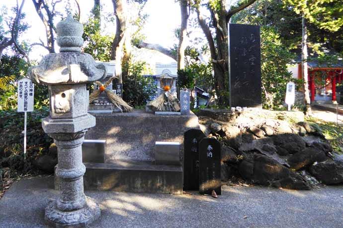 厳島神社の目の神様の画像