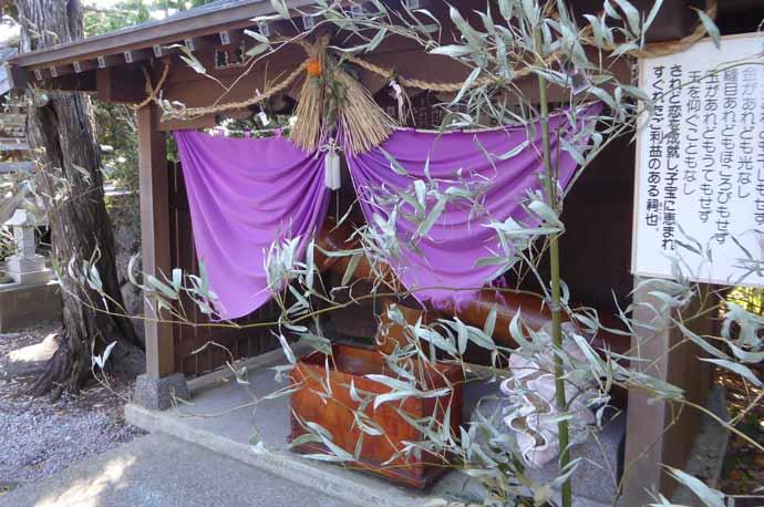 厳島神社の男根と女陰の神様の画像