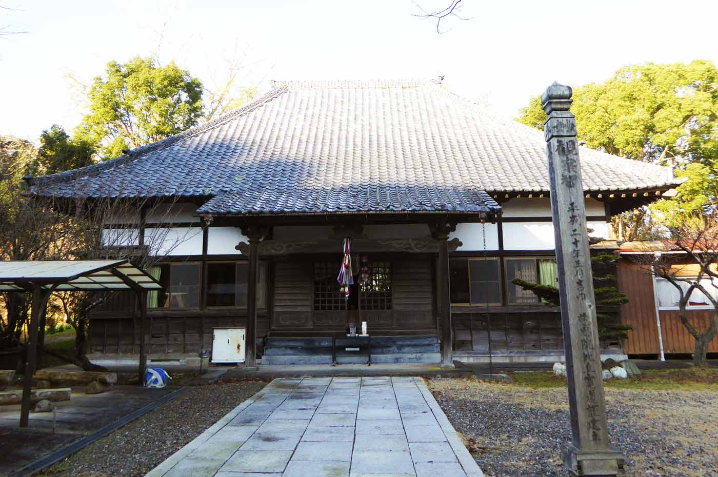 慈恩院の本堂