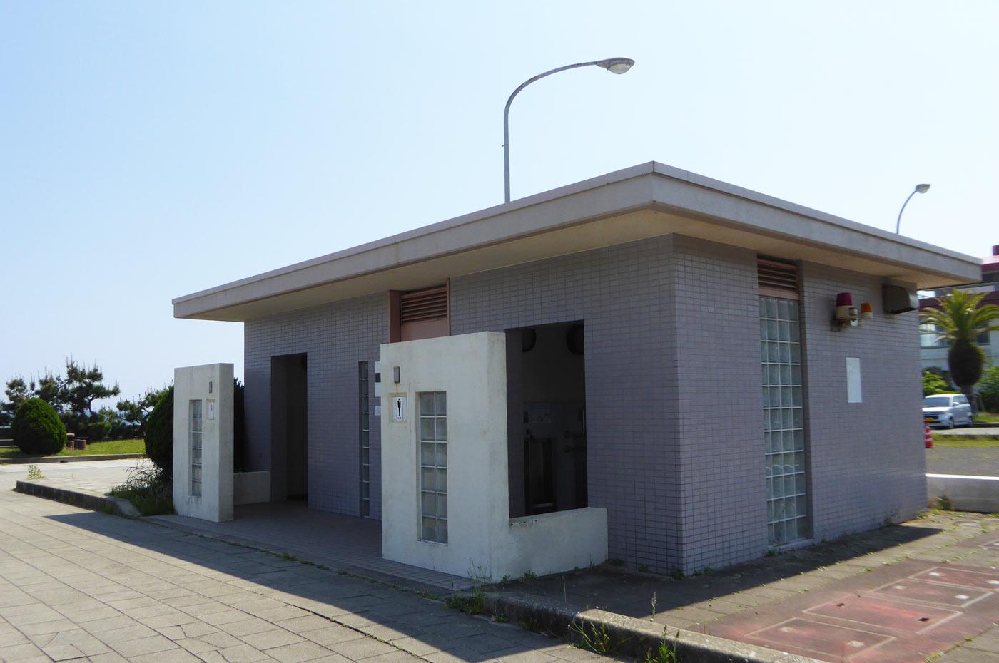 城崎海水浴場のトイレの画像