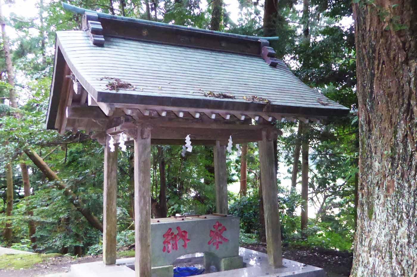 賀茂神社手水舎