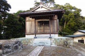 金山神社の拝殿