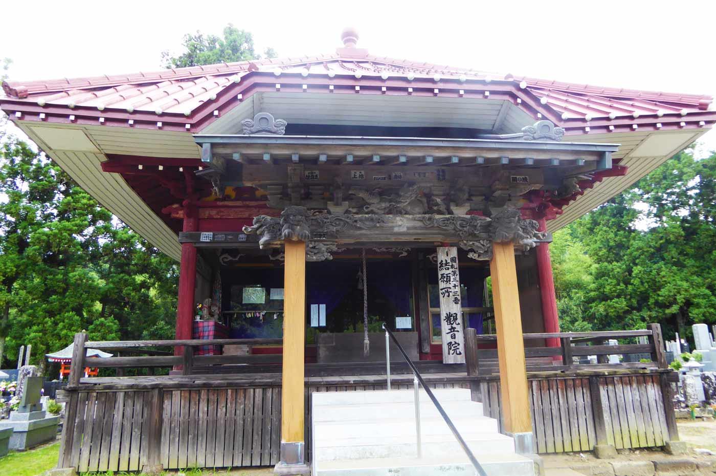 杉本山観音院の観音堂