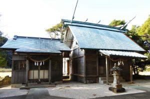 鹿嶋神社の拝殿