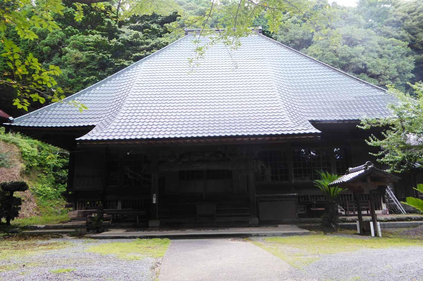 小網寺の本堂