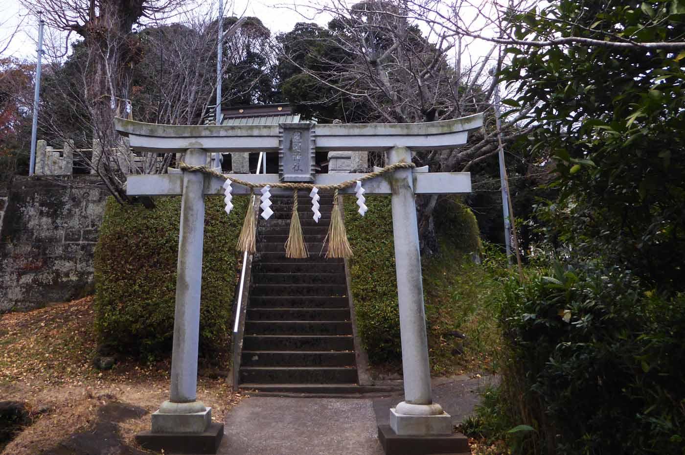 国司神社の二の鳥居の画像