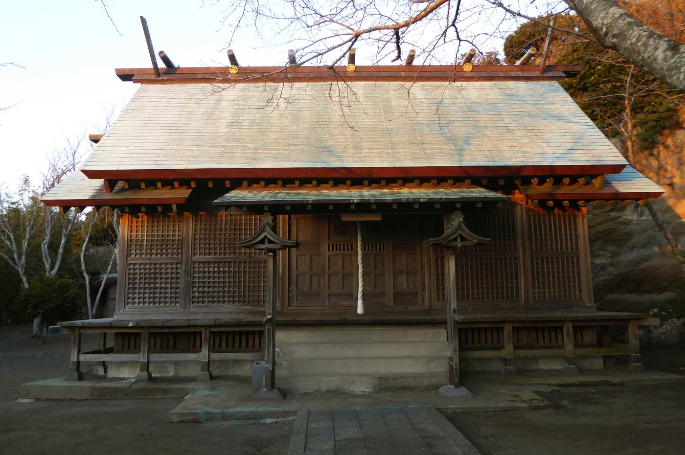 金刀比羅神社拝殿の画像