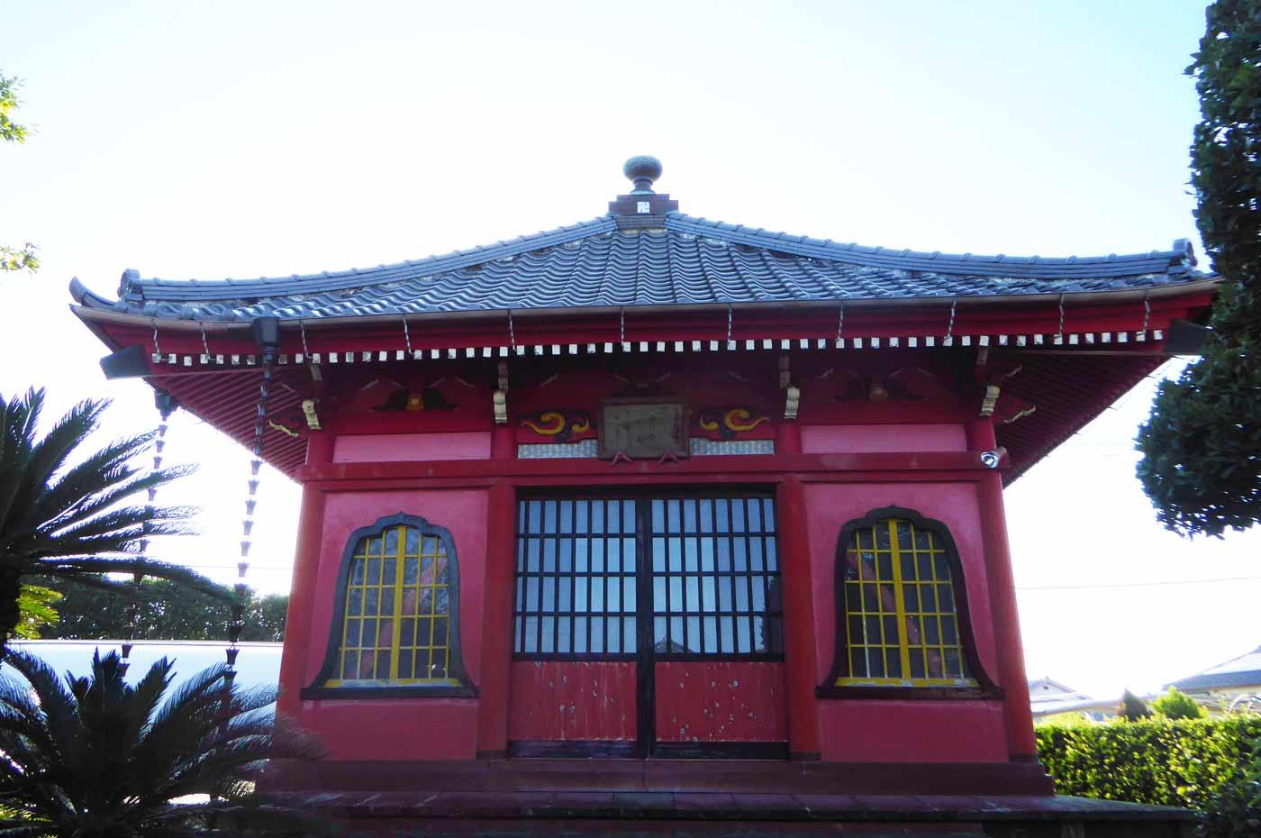 金蓮院の観音堂の画像