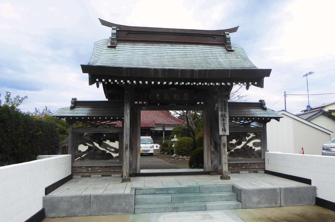 金蓮院の山門の画像