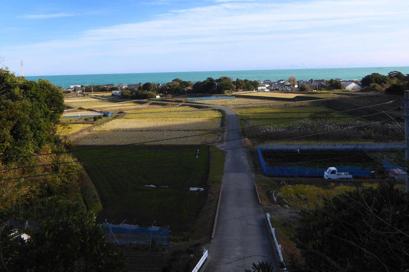 龍光山の展望台からの眺望