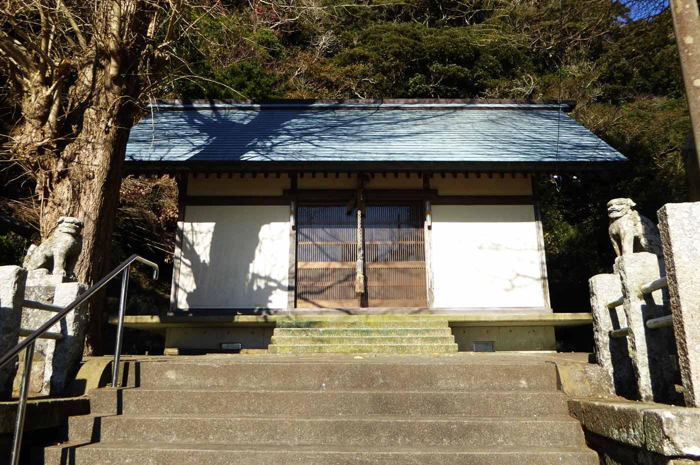 熊野神社拝殿の画像
