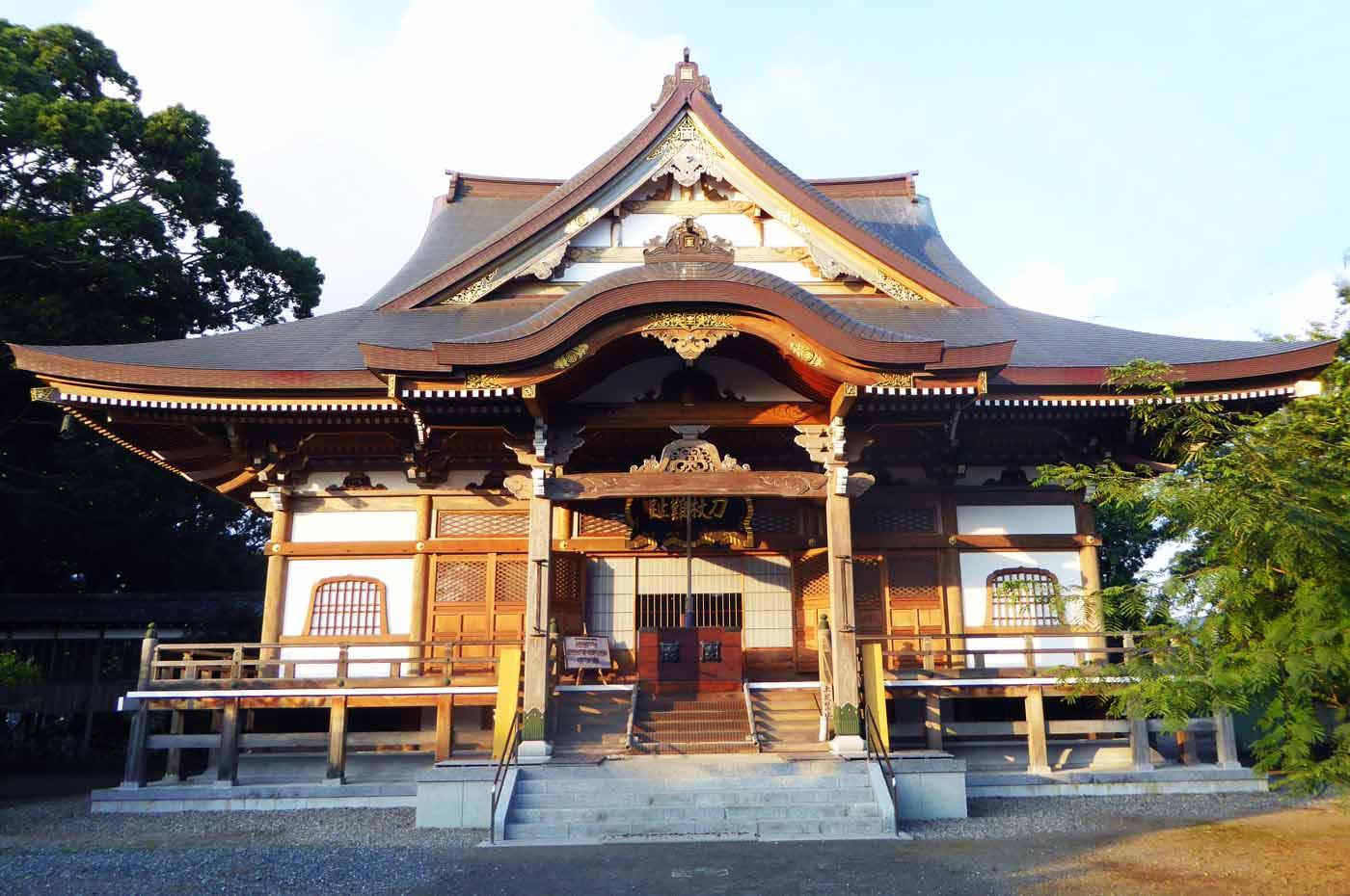 鏡忍寺の祖師堂