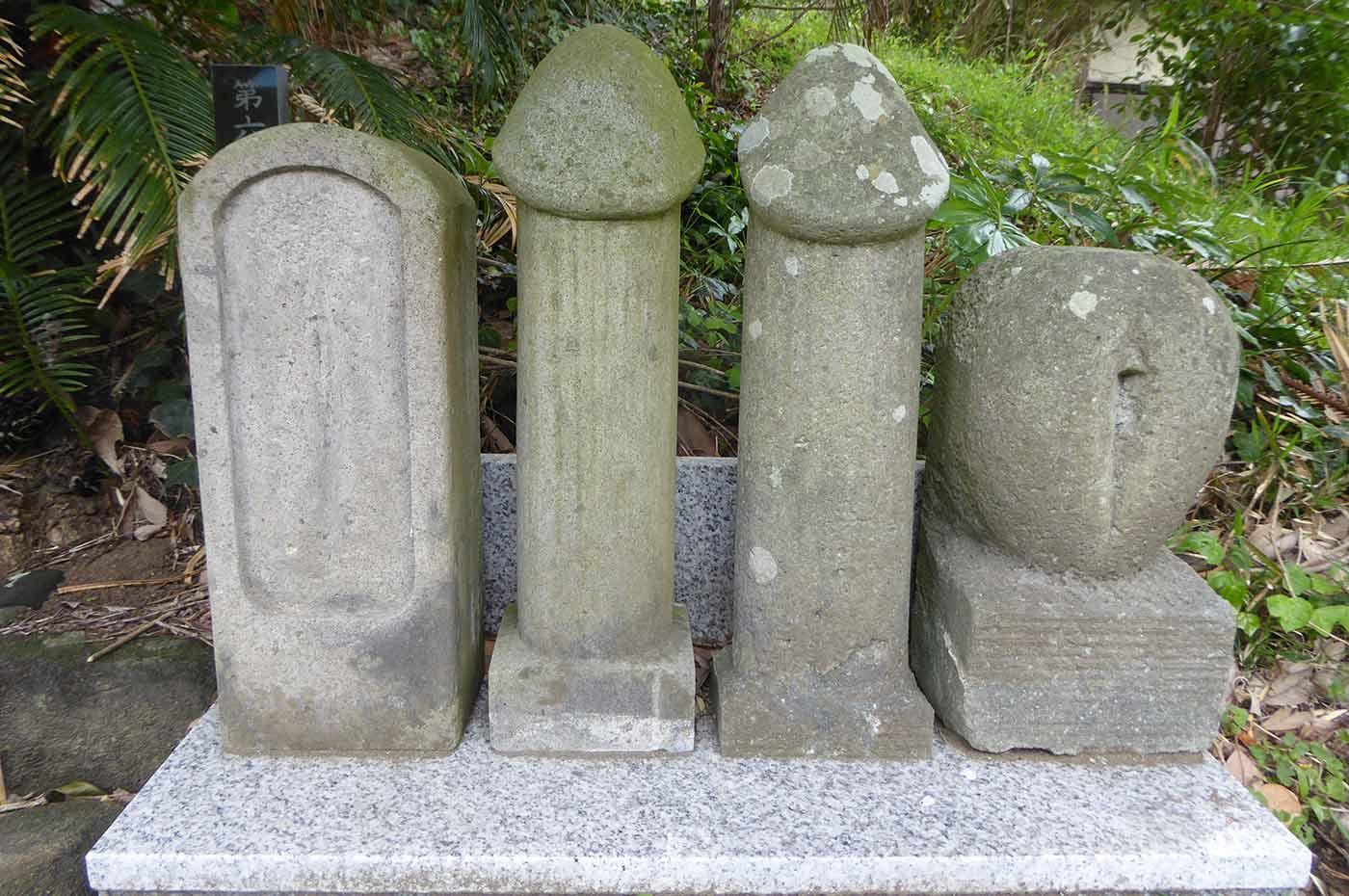 瀧淵神社の魔羅神様