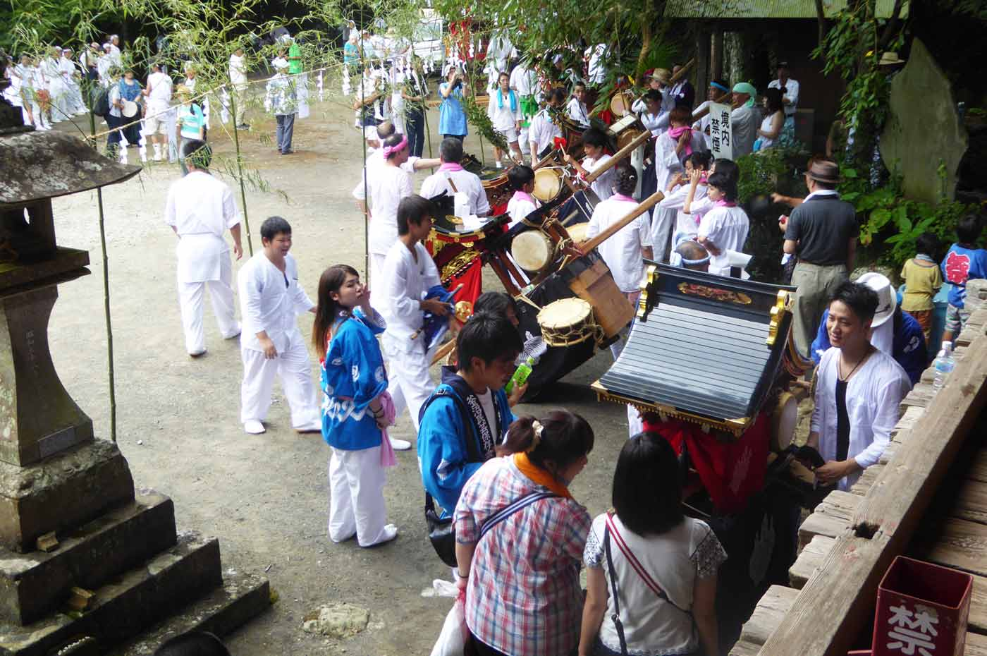 高蔵神社の祭礼