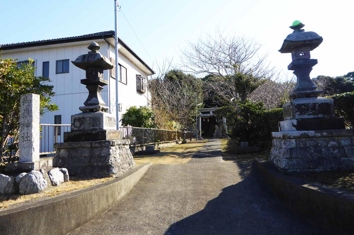 御嶽神社の入口の画像