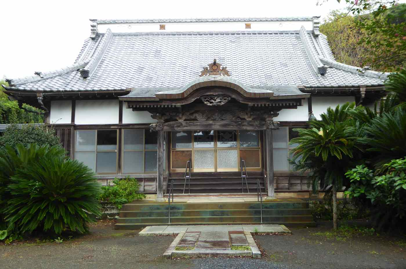 妙達寺の本堂