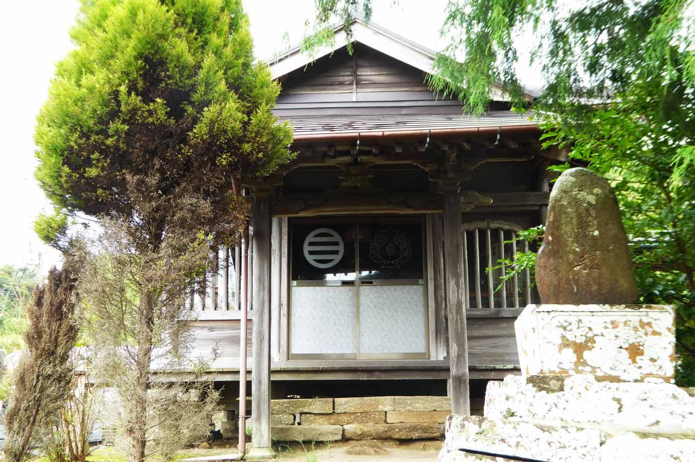 妙達寺の観音堂