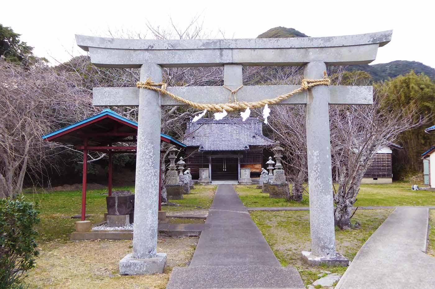 長尾神社の鳥居