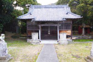 長尾神社の拝殿