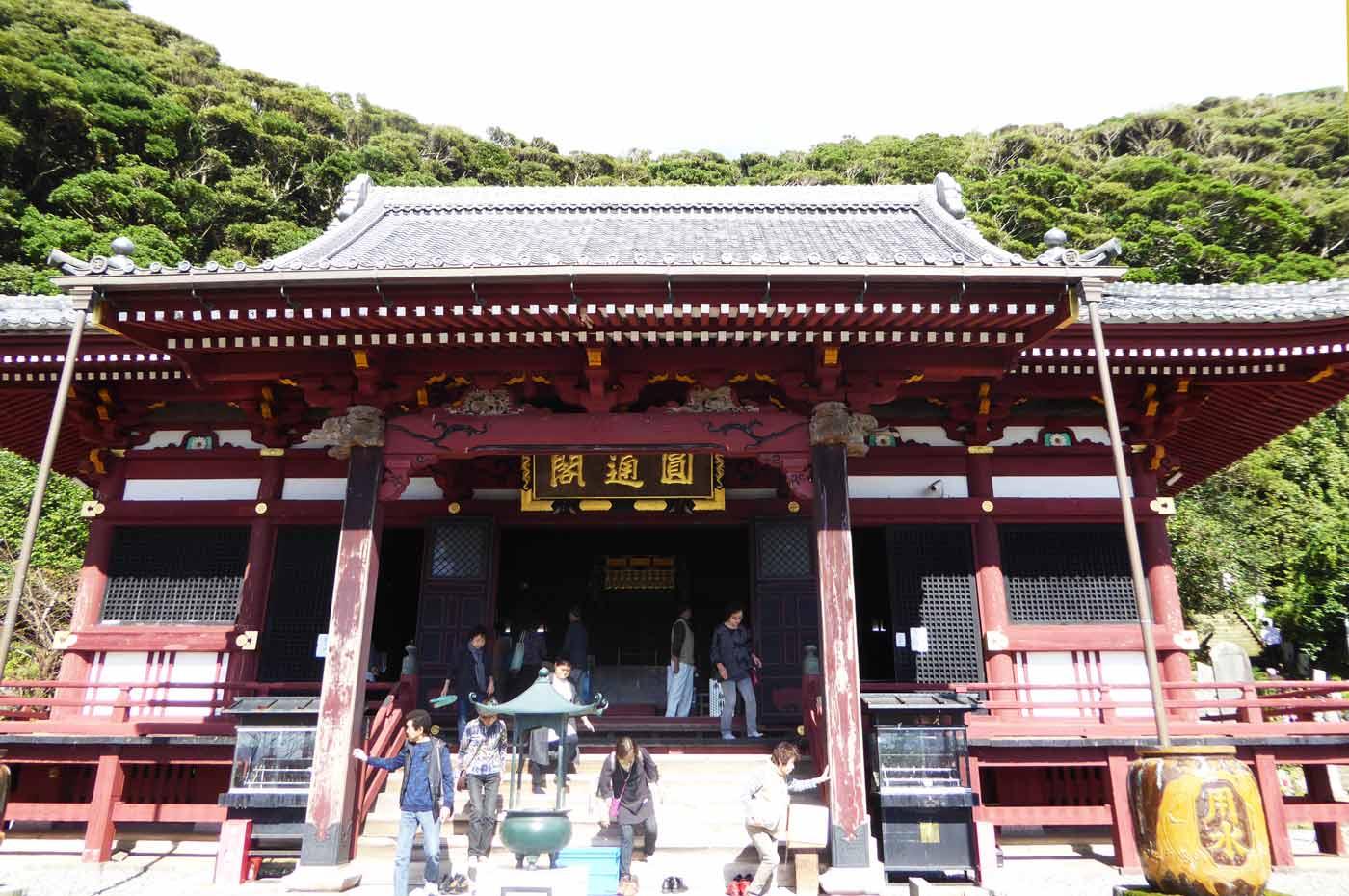 那古寺の観音堂