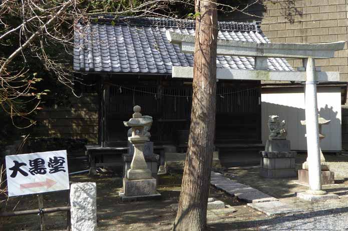 那古寺の日吉神社