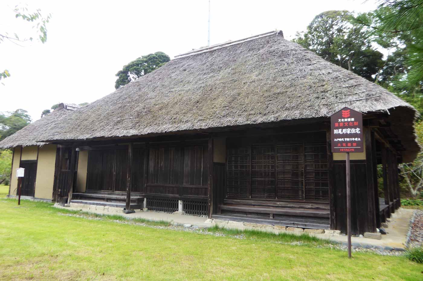 石堂寺の旧尾形家住宅の画像
