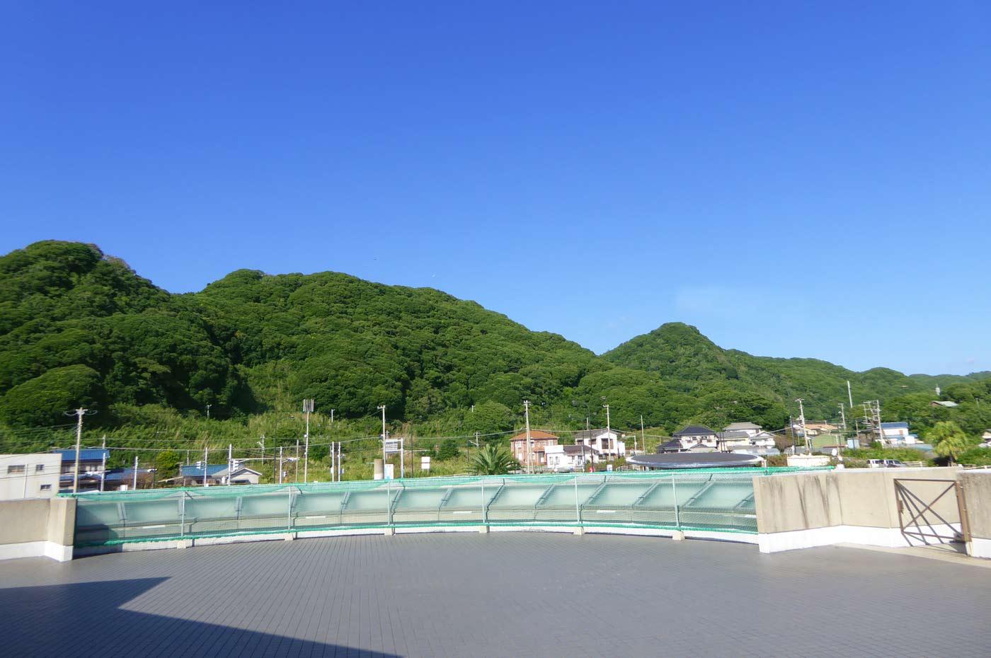 展望台からの眺め(山側)