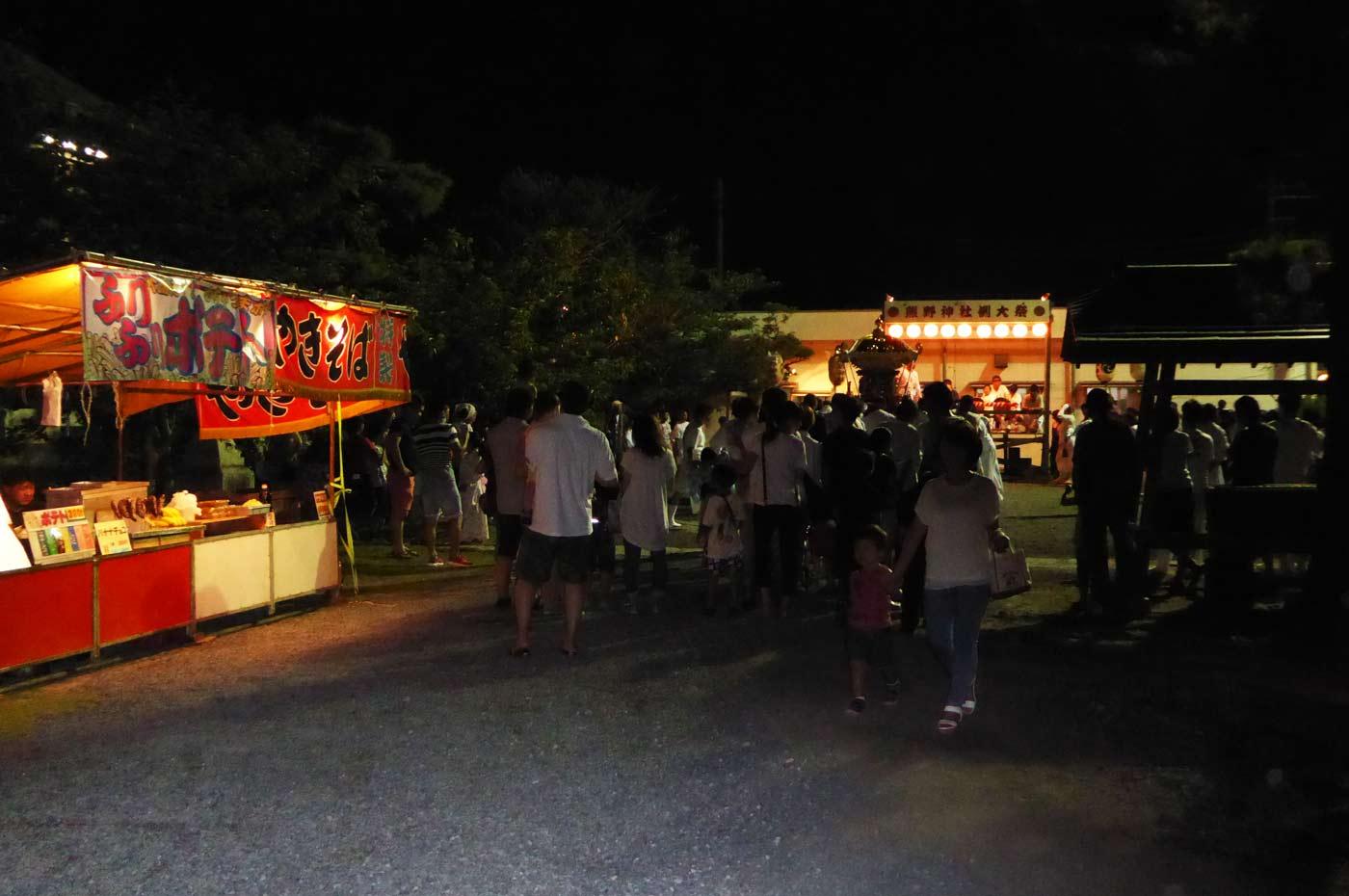 長須賀地区 熊野神社の祭礼