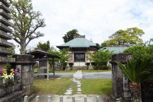 来福寺の本堂の画像