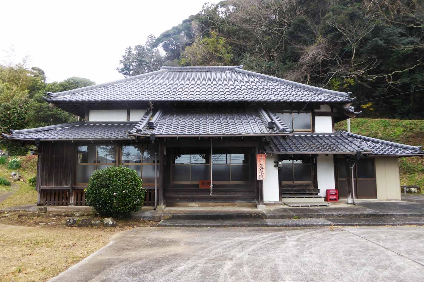 蓮花院の本堂