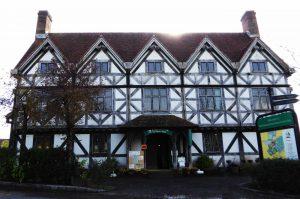 中世のイギリスをイメージした建物