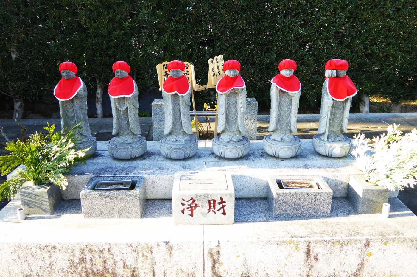 三福寺の六地蔵