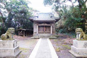 浅間神社の拝殿
