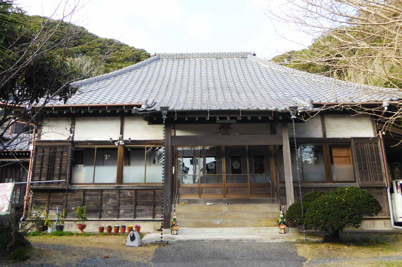 千光寺の本堂の画像
