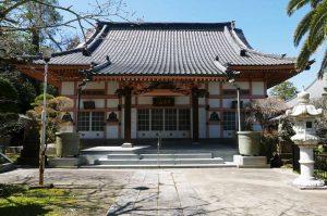 心巌寺の本堂