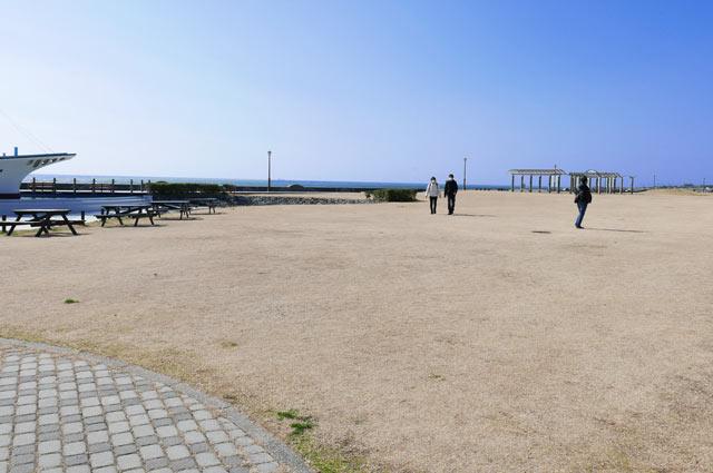 潮風王国の広場の画像