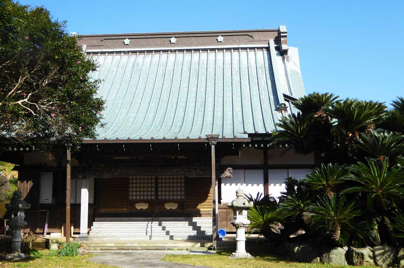 紫雲寺の本堂の画像