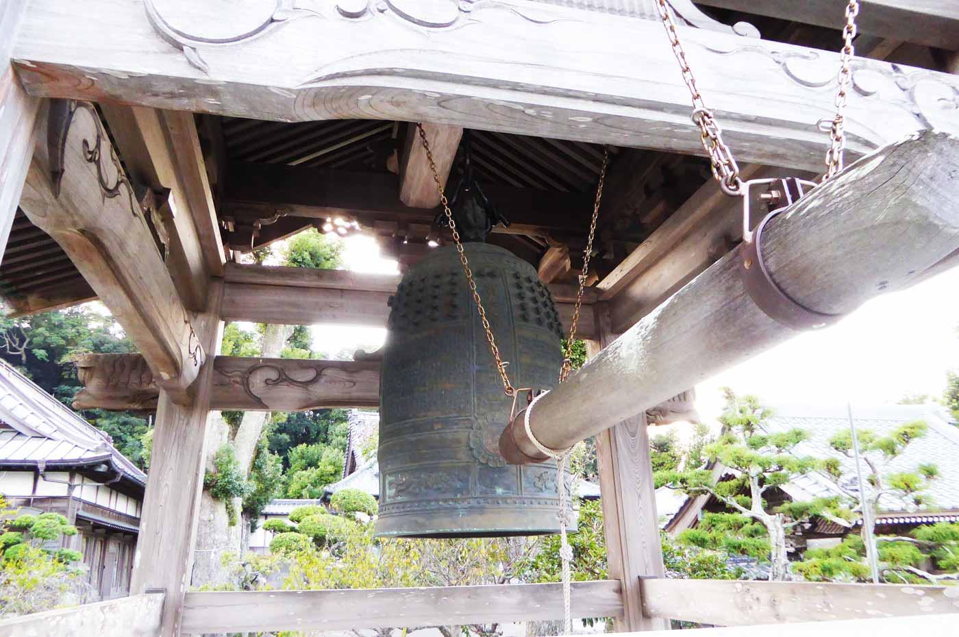 総持院の梵鐘の画像