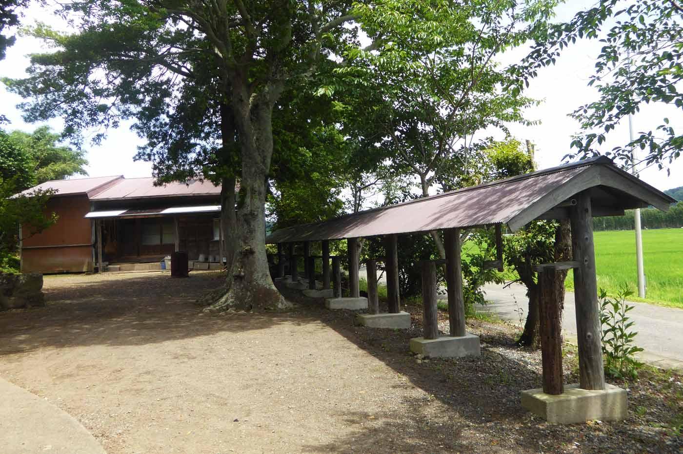 菅原神社の境内