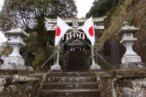 諏訪神社(館山市波左間)の鳥居