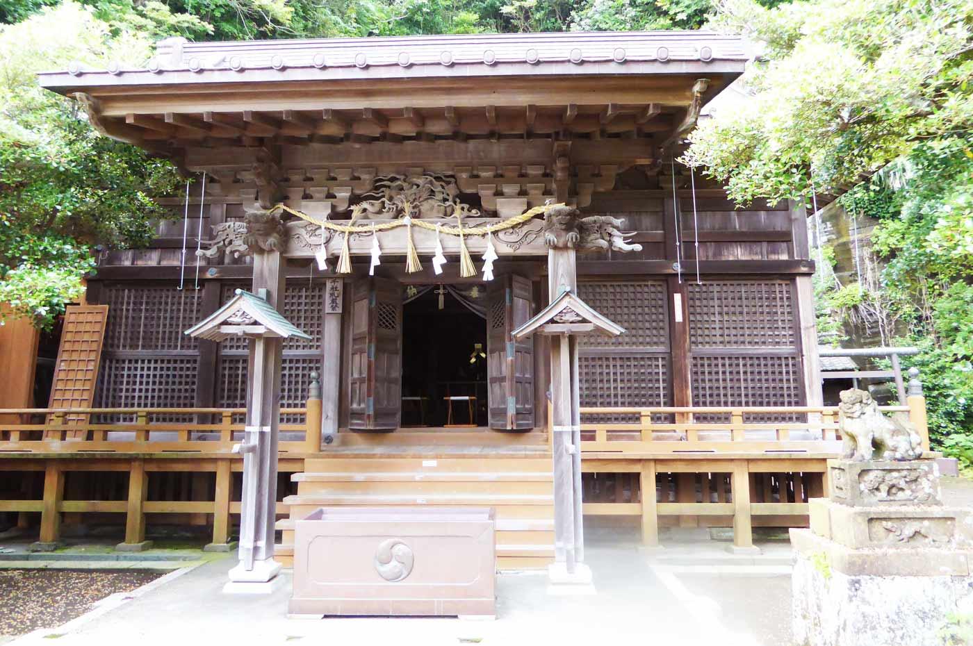 諏訪神社 館山市船形の拝殿
