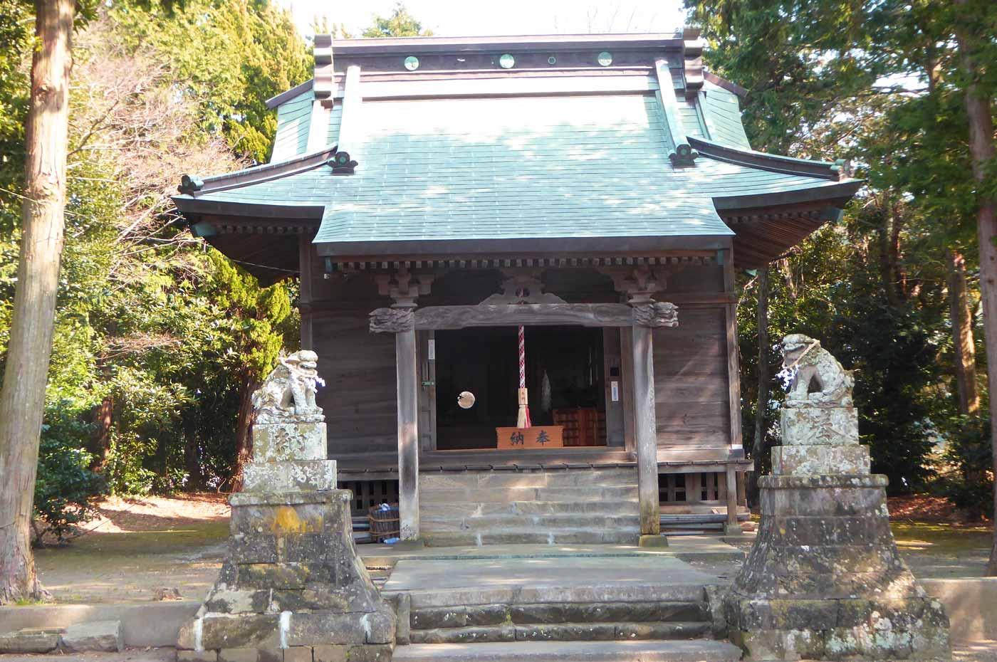 諏訪神社(国分)の拝殿