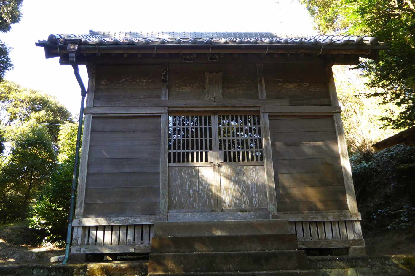拝殿の画像