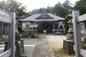 正福寺の境内の画像