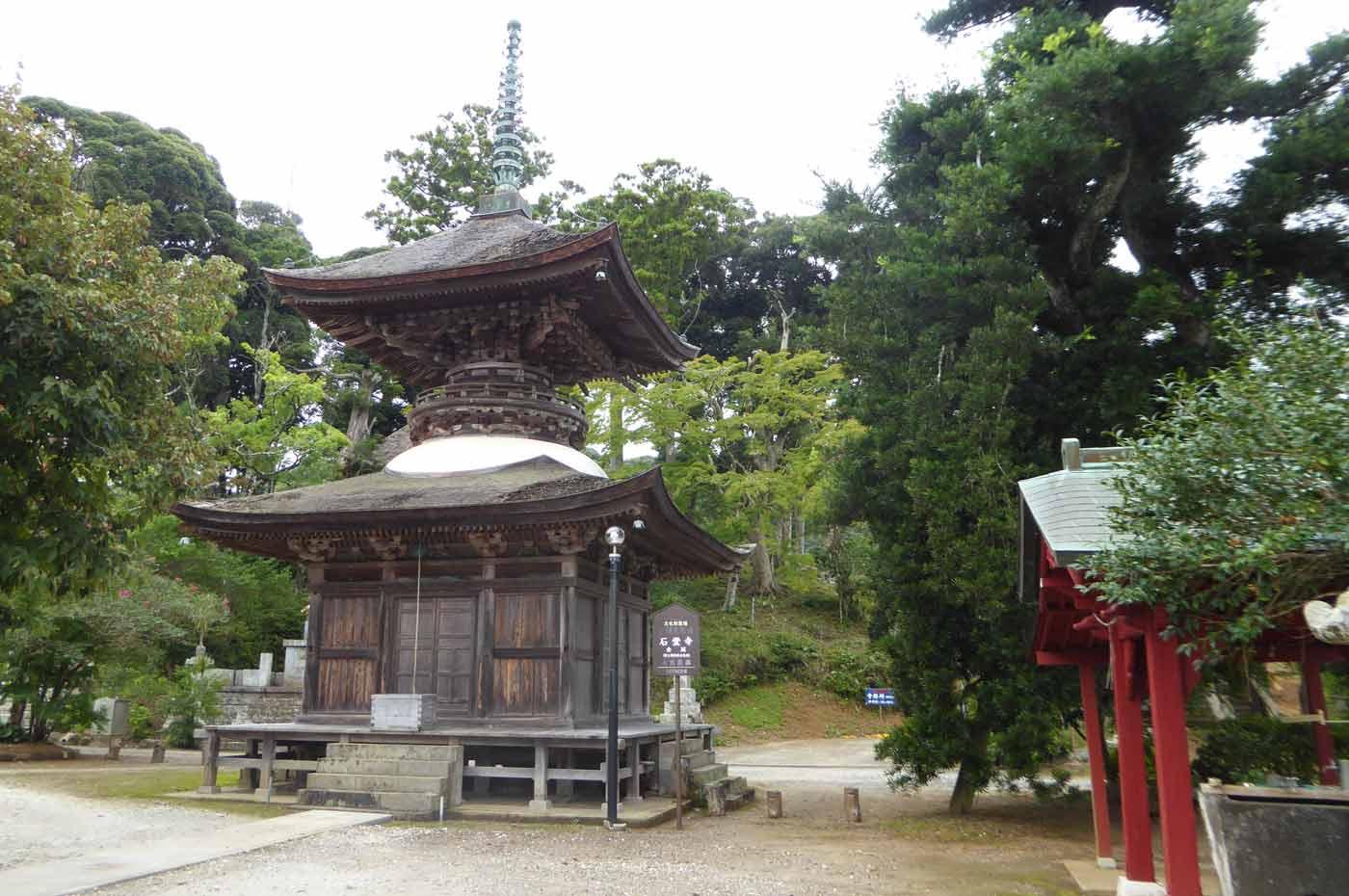 石堂寺多宝塔(国指定重要文化財)の画像