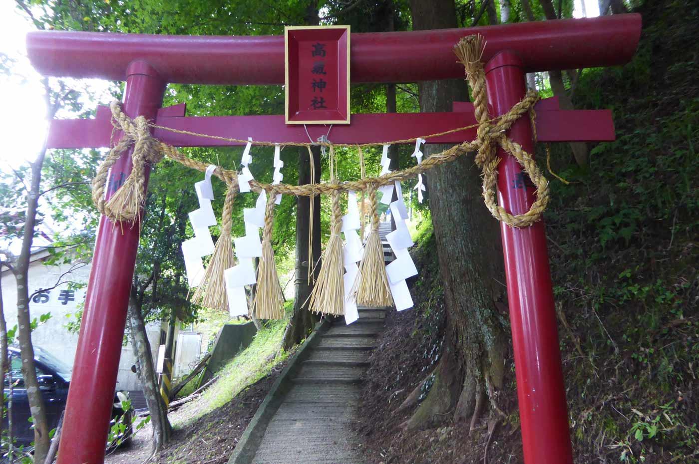 高蔵神社の鳥居
